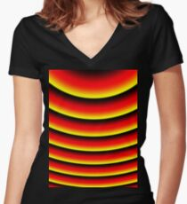 Cyclone Women's Fitted V-Neck T-Shirt