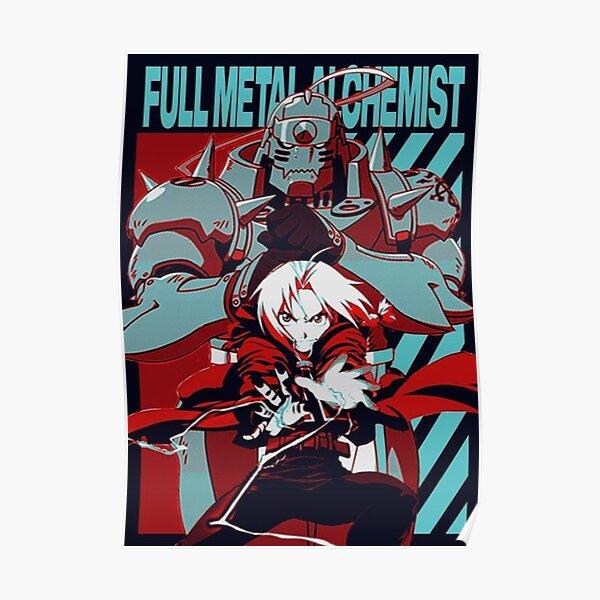 Full Metal alchemist Poster Poster