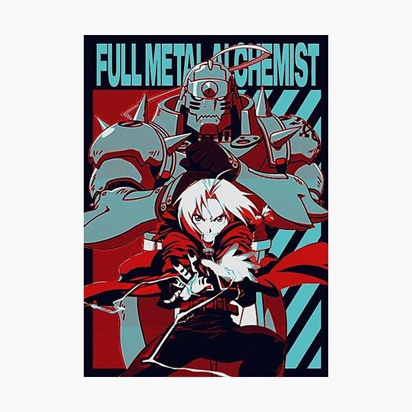Full Metal alchemist Poster Photographic Print