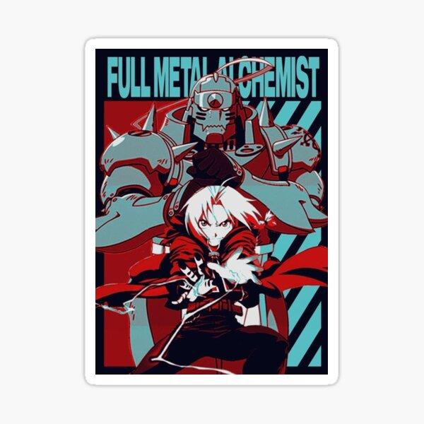 Full Metal alchemist Poster Sticker