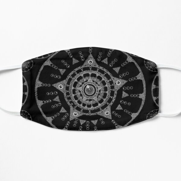 Black Mandala Mask