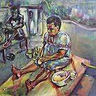 Plantain for breakfast by christine purtle