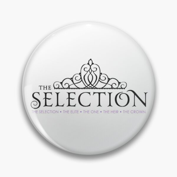 The Selection Series Titles Pin