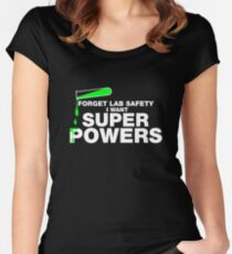 Funny Lab Safety T-shirt Women's Fitted Scoop T-Shirt