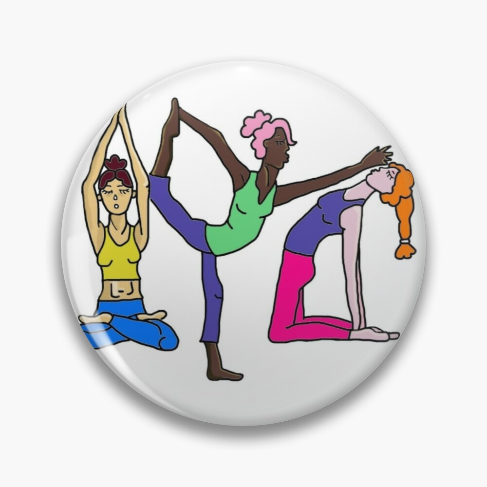 Yoga Girls Mask By Daniingold Redbubble