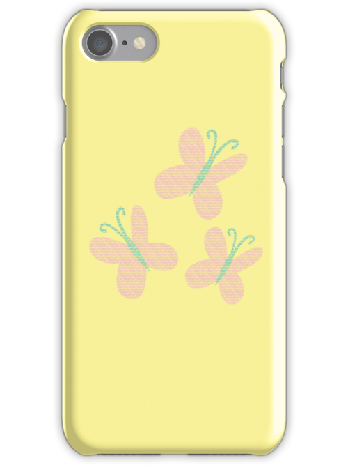 Fluttershy Text Original iPhone Cover by Alessandro Ionni