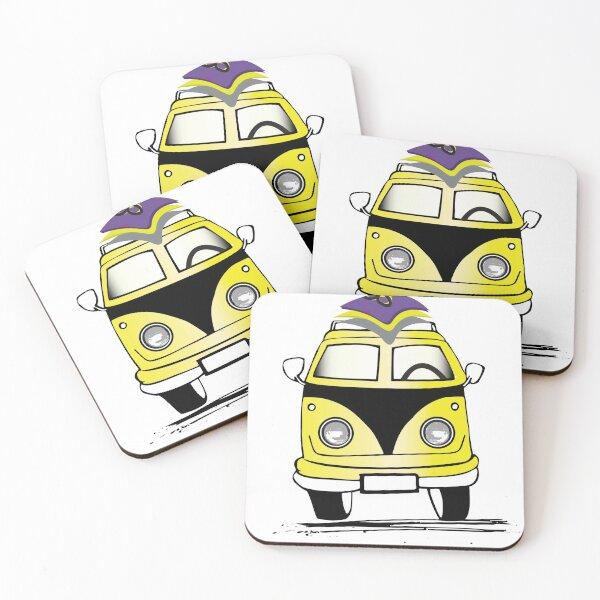 Hello Coasters (Set of 4)