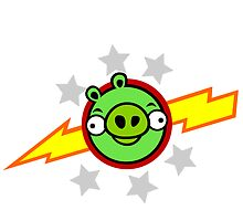 Angry Birds Pigs in Space by Mike Boon