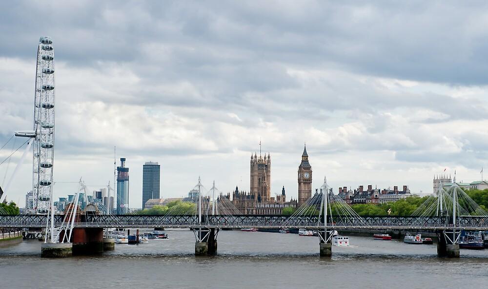 London Panorama by BigshotD3