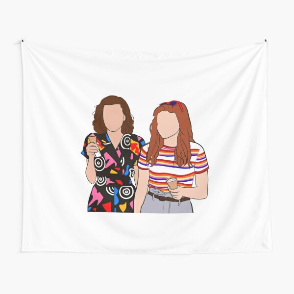 Eleven and Max Tapestry