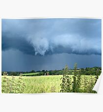 Thunderclouds over the Weald Poster