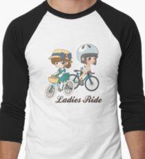 Ladies Ride Men's Baseball ¾ T-Shirt