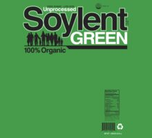 Contents: Unprocessed Soylent Green (on Green)