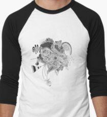 Shape experiment Men's Baseball ¾ T-Shirt