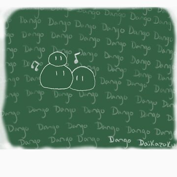 Clannad - Dango Daikazoku on the Blackboard by Kyrannyx