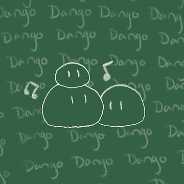Clannad - Dango Daikazoku on the Blackboard Ipod Case by Kyrannyx