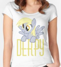 Derpy Hooves.  That is all. Women's Fitted Scoop T-Shirt