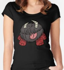 Nightmare Chester, Don't starve Women's Fitted Scoop T-Shirt