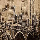 Urban Abstract by susan stone
