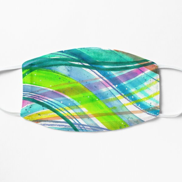 Colorful Waves Mask