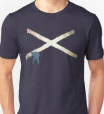 Scotland Urban Saltire Unisex T-Shirt