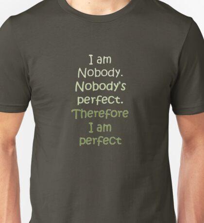 I Am Perfect T-Shirt