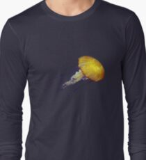 Electric Jellyfish T-Shirt American Apparel Long Sleeve T-Shirt