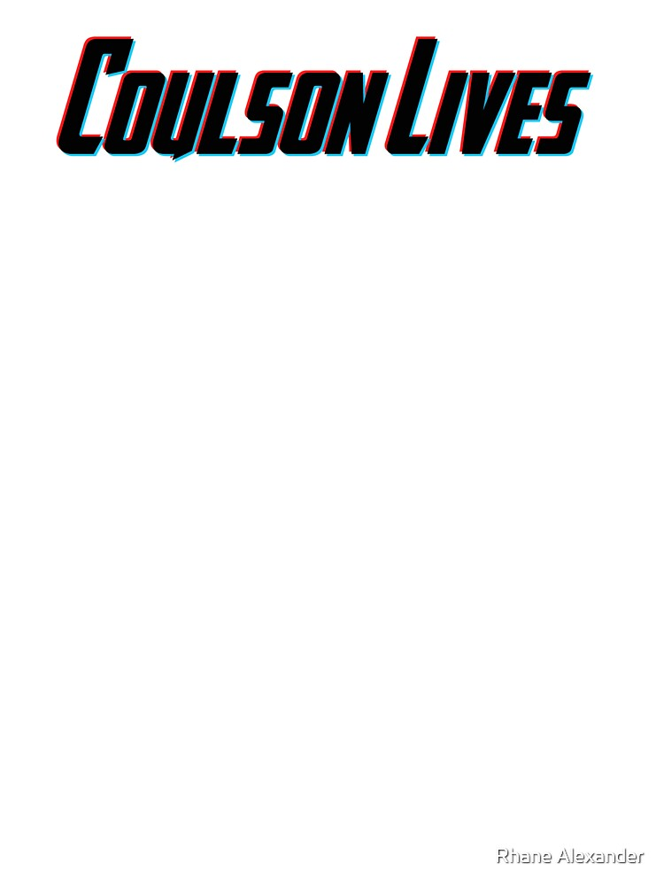 Coulson Lives (3D Effect) by rhaneysaurus