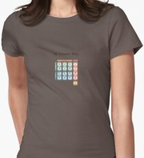 The God Particle: Higgs Boson and the Standard Model Womens Fitted T-Shirt