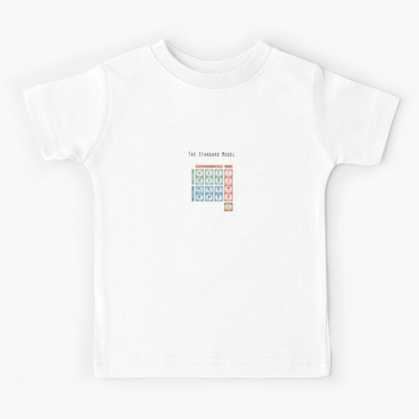 The God Particle: Higgs Boson and the Standard Model Kids T-Shirt
