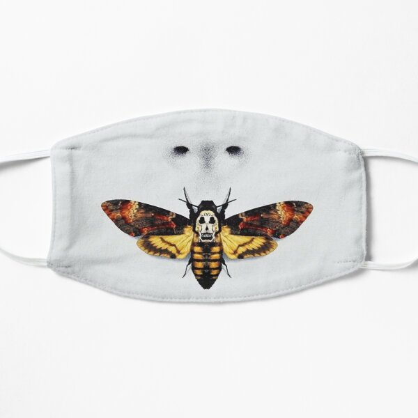 Silence of the Lambs Mask Flat Mask