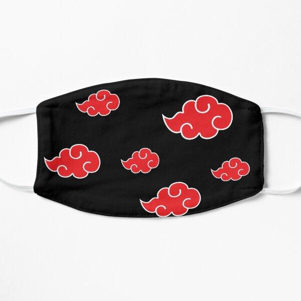 Ninja red cloud symbol Mask