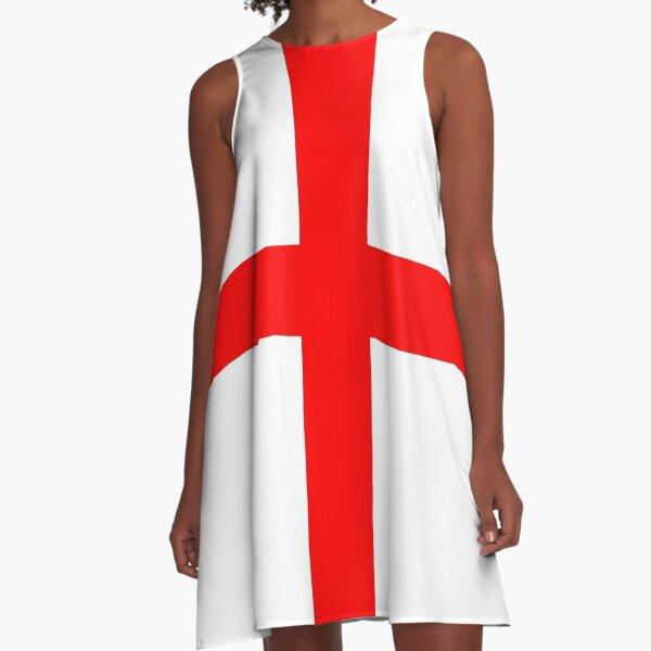 St George Cross A-Line Dress