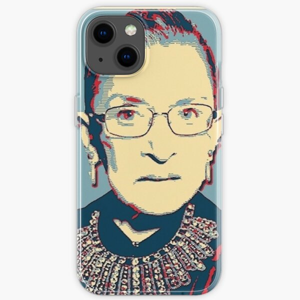 Notorious RBG I DISSENT iPhone Soft Case
