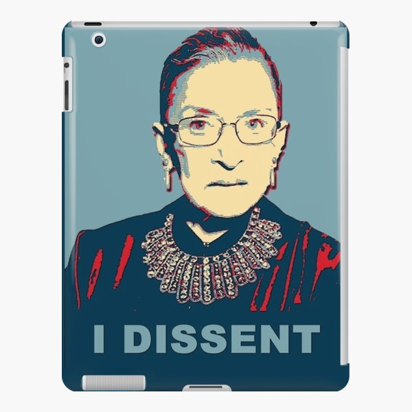 Notorious RBG I DISSENT iPad Snap Case