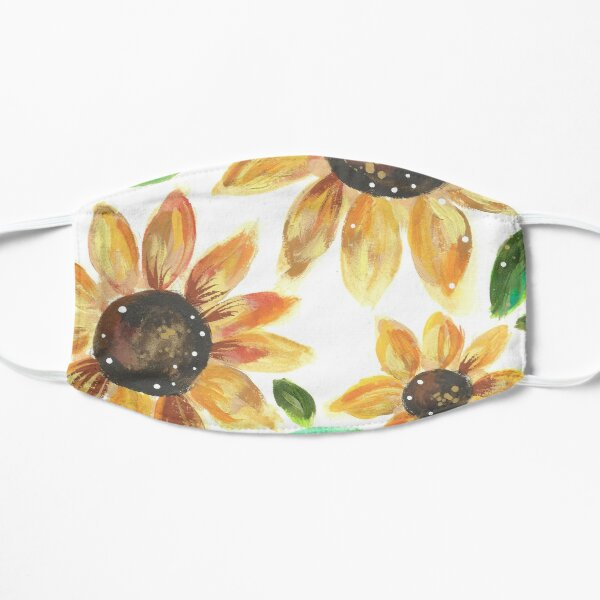 Whimsical Sunflowers Mask