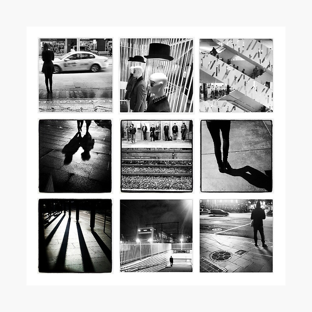 Black and White Wall Photographic Print