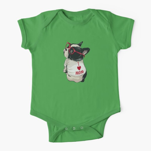 Boston Terrier Body manches courtes