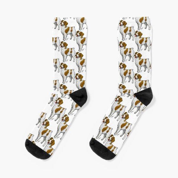 Brittany Spaniel Socks