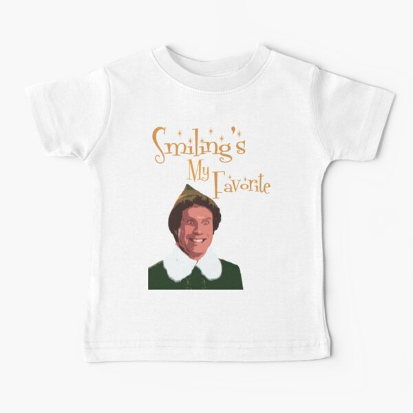 Buddy The Elf - Smiling My Favorite Baby T-Shirt