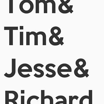T&T&J&R. by keanecalm
