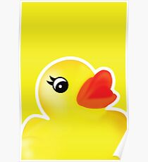 Rubber Ducky [Print | iPhone / iPad / iPod Case & Tshirt] Poster