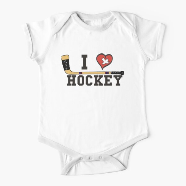 Trail Smoke Eaters Vintage Hockey Logo Baby short sleeve one piece Bodysuit T-shirt