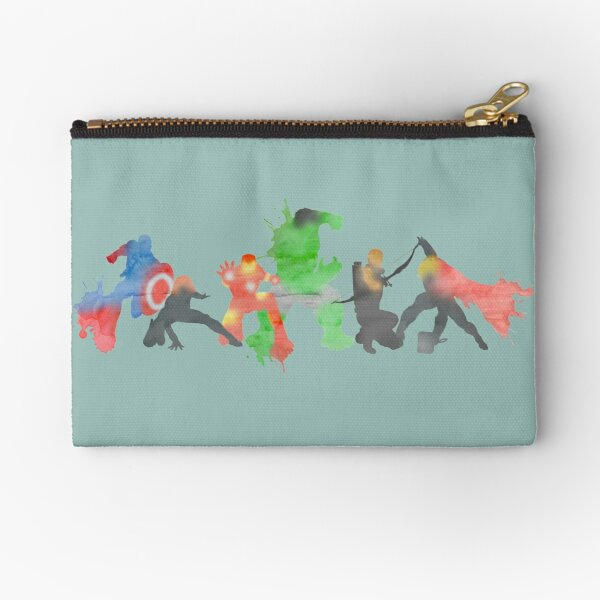 Superheros Zipper Pouch