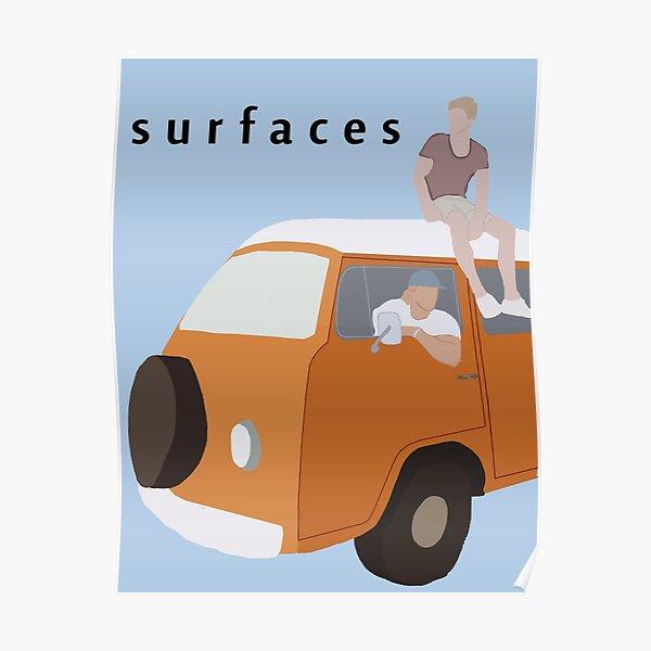 Surfaces van fan art Poster