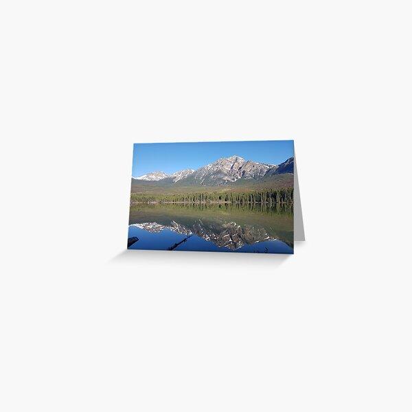 Pyramid Lake #1, Jasper, Alberta Greeting Card