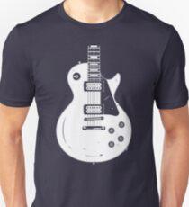 Les Paul White T-Shirt