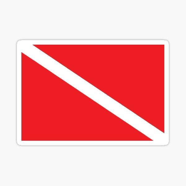 CafePress Diving Diver Flag /& Rescue Diver Sticker 1923648607 Oval