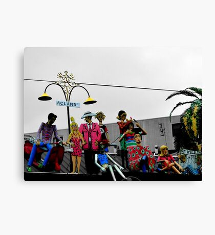 Acland Characters Canvas Print