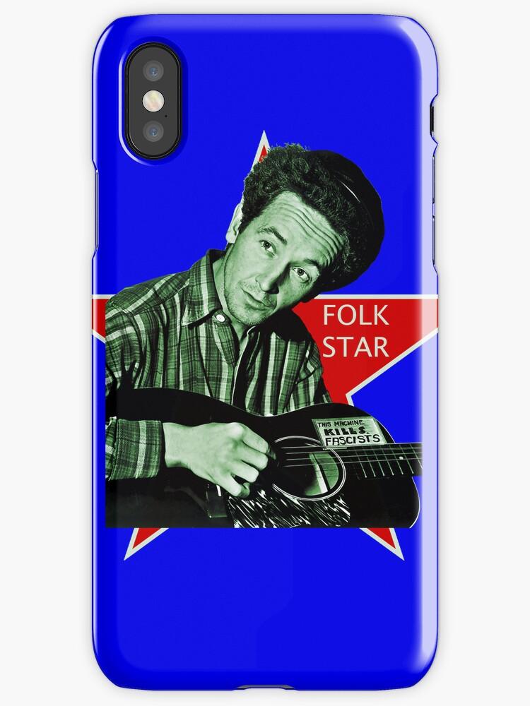 Woody Guthrie, Folk Star (Sm) by MTKlima